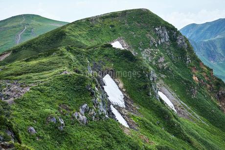 鳥海山から望む景色の写真素材 [FYI01797976]
