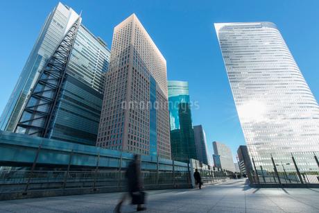 汐留の高層ビル群の写真素材 [FYI01798020]