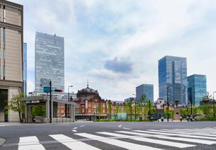 東京駅丸の内の風景の写真素材 [FYI01798088]