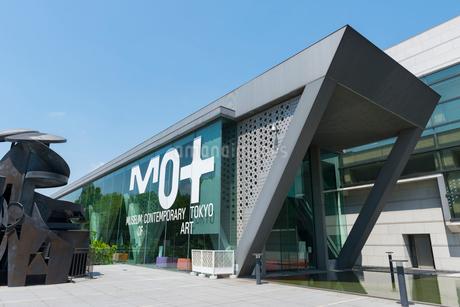 東京都現代美術館の写真素材 [FYI01798175]