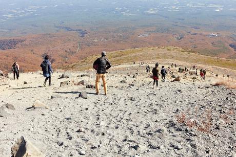 那須岳トレッキングの写真素材 [FYI01798186]