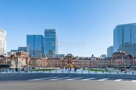 東京駅の写真素材 [FYI01798270]