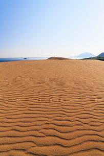 鳥取砂丘と日本海の写真素材 [FYI01798414]