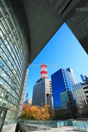 愛知芸術文化センターより錦通りビル街の写真素材 [FYI01798473]