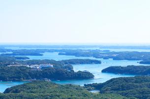伊勢志摩・横山展望台より英虞湾の島々を望むの写真素材 [FYI01798487]