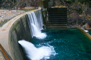 砂防ダムの写真素材 [FYI01798522]
