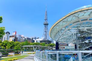 名古屋・オアシス21より名古屋テレビ塔の写真素材 [FYI01798629]