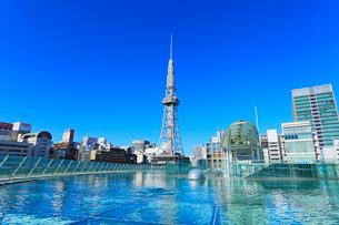 オアシス21より名古屋テレビ塔の写真素材 [FYI01798678]