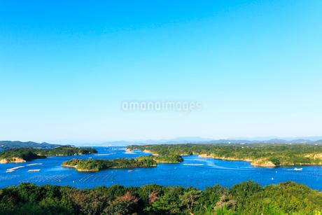 伊勢志摩・登茂山公園桐垣展望台より英虞湾の島々を望むの写真素材 [FYI01798760]