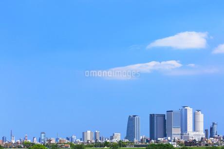 名古屋駅周辺の高層ビルと街並みの写真素材 [FYI01798816]