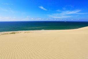 鳥取砂丘と日本海の写真素材 [FYI01798851]