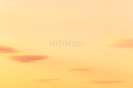 空にレンズ雲の写真素材 [FYI01798924]