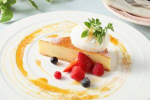 チーズケーキの写真素材 [FYI01799058]