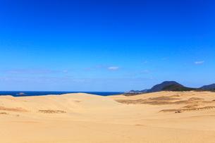 鳥取砂丘と日本海の写真素材 [FYI01799070]
