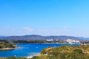 伊勢志摩・登茂山公園桐垣展望台より賢島方向を望むの写真素材 [FYI01799105]