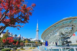 オアシス21より名古屋テレビ塔を望むの写真素材 [FYI01799151]