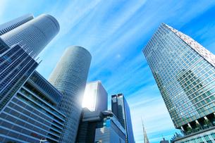 名古屋駅周辺の高層ビルの写真素材 [FYI01799215]