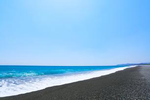 熊野古道七里御浜の写真素材 [FYI01799221]