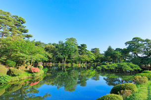 兼六園 霞ヶ池の写真素材 [FYI01799605]
