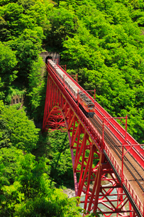 黒部峡谷鉄道・トロッコ電車の写真素材 [FYI01799646]