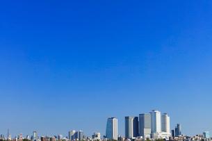 名古屋駅周辺の高層ビルと街並みの写真素材 [FYI01799713]