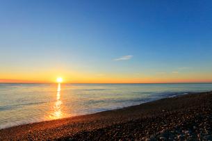 海と朝日の写真素材 [FYI01799798]