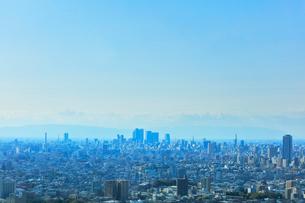 町並みと青空の写真素材 [FYI01799880]