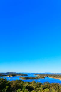 伊勢志摩 桐垣展望台より望む英虞湾の島々の写真素材 [FYI01800163]