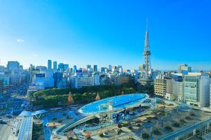 オアシス21と名古屋テレビ塔の写真素材 [FYI01800185]