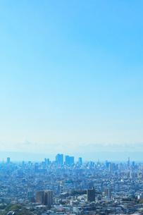 町並みと青空の写真素材 [FYI01800221]