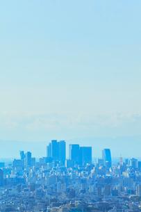 名古屋駅周辺の高層ビルと町並みの写真素材 [FYI01800327]