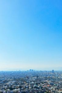 町並みと青空の写真素材 [FYI01800367]