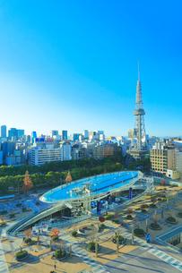 オアシス21と名古屋テレビ塔の写真素材 [FYI01800385]