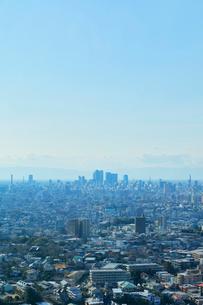 町並みと青空の写真素材 [FYI01800510]