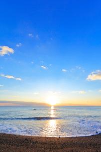 海と朝日の写真素材 [FYI01800517]