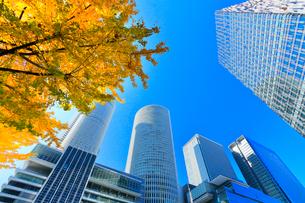 名古屋駅周辺の高層ビルの写真素材 [FYI01800519]