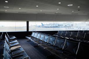 ホノルル国際空港ラウンジの写真素材 [FYI01800524]