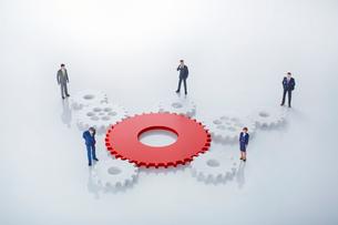 ビジネス協力イメージの写真素材 [FYI01800572]