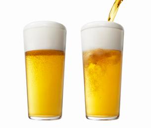 ビールイメージグラスの写真素材 [FYI01800656]