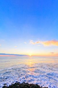 海と朝日の写真素材 [FYI01800670]