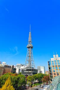 オアシス21より名古屋の街並みにテレビ塔の写真素材 [FYI01800743]