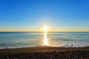 海と朝日の写真素材 [FYI01800785]