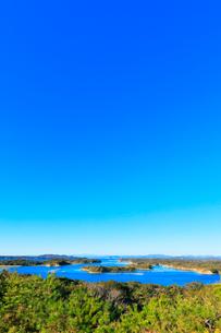 伊勢志摩 桐垣展望台より望む英虞湾の島々の写真素材 [FYI01800799]