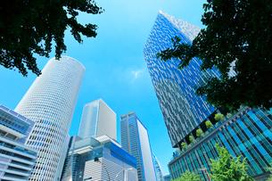 名古屋駅周辺の高層ビルの写真素材 [FYI01800802]