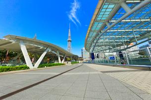 オアシス21より名古屋のテレビ塔の写真素材 [FYI01801024]
