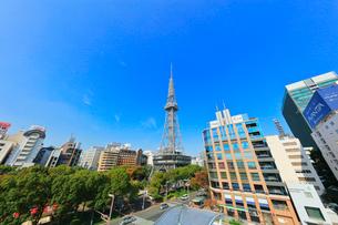 オアシス21より名古屋の街並みにテレビ塔の写真素材 [FYI01801117]