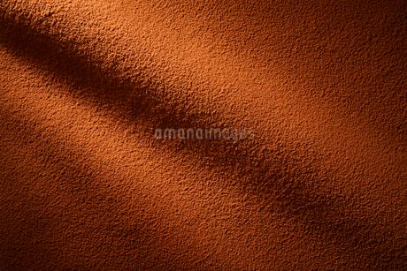 カカオパウダーのドレープの写真素材 [FYI01801340]