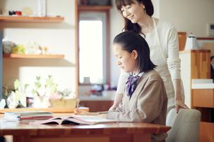 勉強する女の子の写真素材 [FYI01801380]