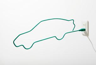 電気自動車イメージの写真素材 [FYI01801577]