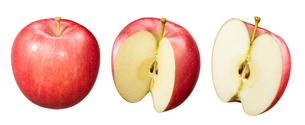 リンゴ素材 ふじの写真素材 [FYI01801597]